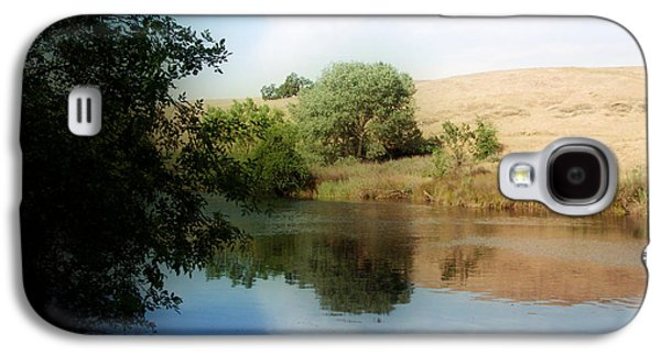 Waterscape Galaxy S4 Cases - Hill By The Water Galaxy S4 Case by Kathy Franklin
