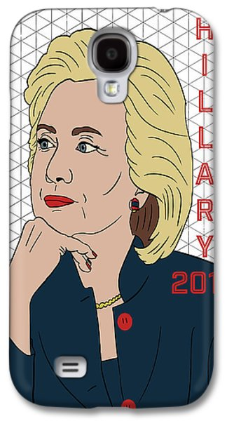 Hillary Clinton 2016 Galaxy S4 Case by Nicole Wilson