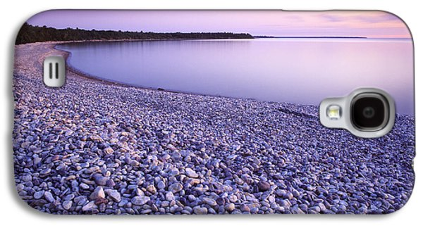 Colour Image Photographs Galaxy S4 Cases - Hillside Beach, Lake Winnipeg, Manitoba Galaxy S4 Case by Dave Reede