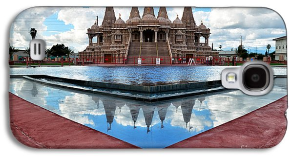 Hindu Goddess Photographs Galaxy S4 Cases - Hindu Temple BAPS Shri Swaminarayan Mandir Galaxy S4 Case by Peter Dang
