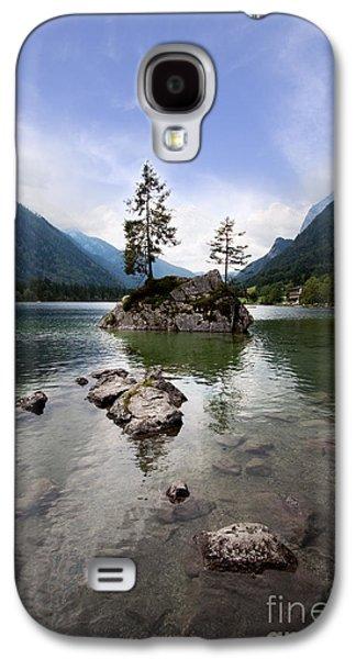 Quiet Galaxy S4 Cases - Hintersee Galaxy S4 Case by Nailia Schwarz
