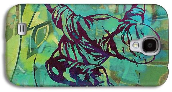 Nudes Mixed Media Galaxy S4 Cases - Hip Hop Street Art Dancing poster - 1 Galaxy S4 Case by Kim Wang