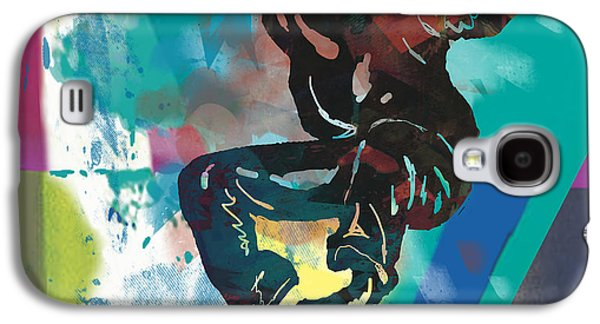 Nudes Mixed Media Galaxy S4 Cases - Hip Hop Street Art Dancing poster - 3 Galaxy S4 Case by Kim Wang