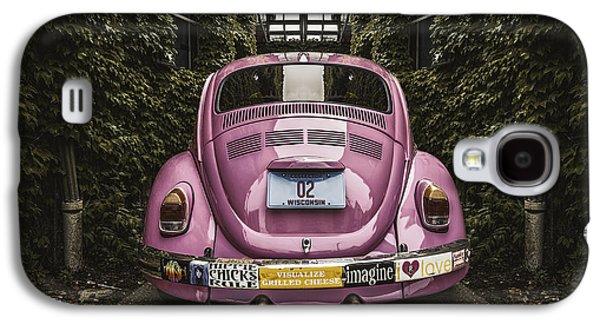Hippie Chick Love Bug Galaxy S4 Case by Scott Norris