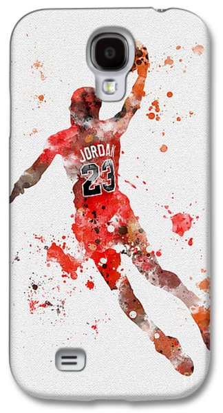 His Airness Galaxy S4 Case by Rebecca Jenkins