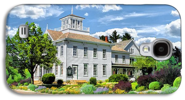 Levi Galaxy S4 Cases - Historic Cupola House in Egg Harbor Door County Galaxy S4 Case by Christopher Arndt