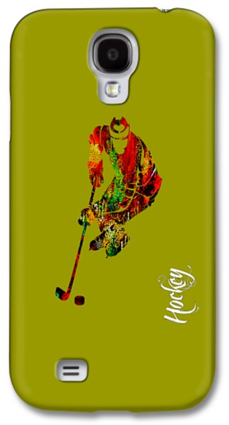 Colorful Galaxy S4 Cases - Hockey Collection Galaxy S4 Case by Marvin Blaine
