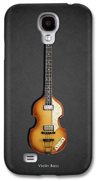 Beatles Photographs Galaxy S4 Cases - Hofner Violin Bass 62 Galaxy S4 Case by Mark Rogan