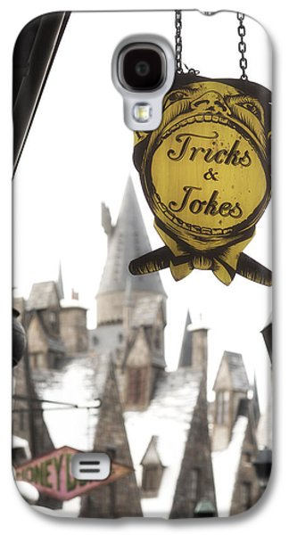 Fantasy Photographs Galaxy S4 Cases - Hogsmeade Galaxy S4 Case by Noah Bryant