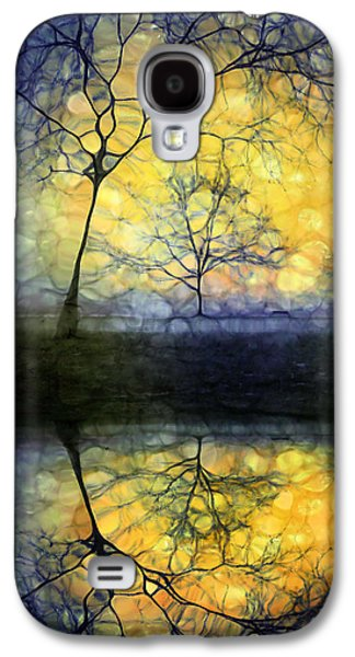 Companion Digital Art Galaxy S4 Cases - Holding in Gold Galaxy S4 Case by Tara Turner