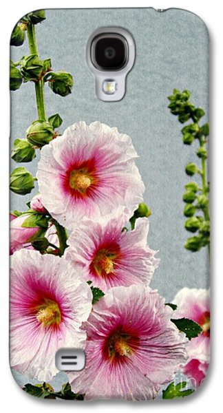 Business Galaxy S4 Cases - Hollyhocks in Schierstein 3 Galaxy S4 Case by Sarah Loft