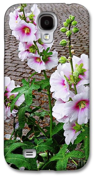 Business Galaxy S4 Cases - Hollyhocks in Schierstein 4 Galaxy S4 Case by Sarah Loft