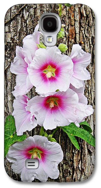 Business Galaxy S4 Cases - Hollyhocks in Schierstein 5 Galaxy S4 Case by Sarah Loft