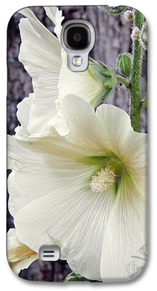Business Galaxy S4 Cases - Hollyhocks in Schierstein 6 Galaxy S4 Case by Sarah Loft