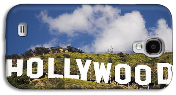 Fine Art Photography Galaxy S4 Cases - Hollywood Sign Galaxy S4 Case by Anthony Citro