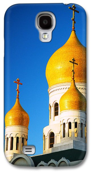 Religious Galaxy S4 Cases - Holy Virgin Cathedral Galaxy S4 Case by James Kirkikis