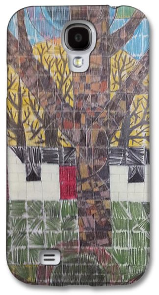 Owner Drawings Galaxy S4 Cases - Home 5 Galaxy S4 Case by William Douglas
