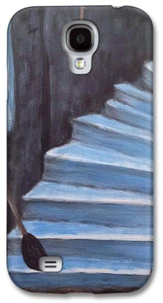 Samhain Paintings Galaxy S4 Cases - Home After a Long Flight Galaxy S4 Case by Cheryle Hoover Davis