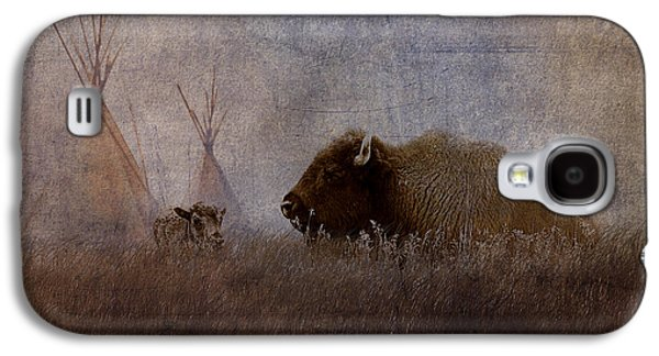Bison Digital Galaxy S4 Cases - Home On The Range Galaxy S4 Case by Ron Jones