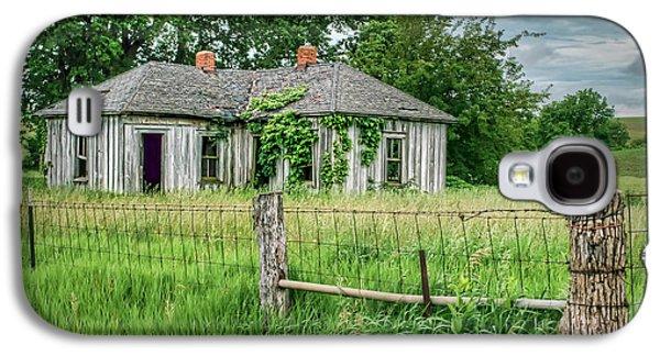 Home Place - Farmhouse - Kansas Galaxy S4 Case by Nikolyn McDonald