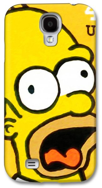 Homer Simpson Galaxy S4 Case by Lanjee Chee
