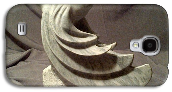 Grey Sculptures Galaxy S4 Cases - Homeward bound Galaxy S4 Case by Victor Oriecuia