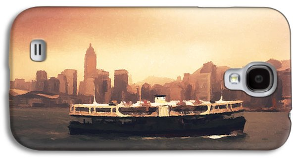 Hong Kong Harbour 01 Galaxy S4 Case by Pixel  Chimp