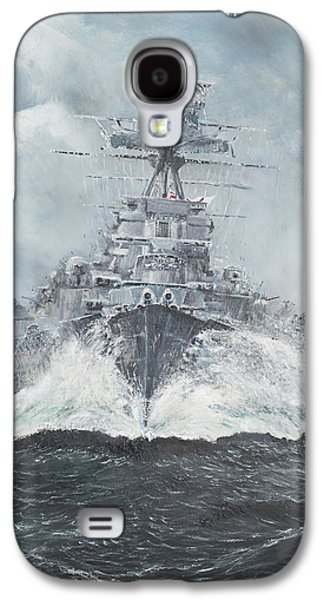 Sailing Ships Galaxy S4 Cases - Hood heads for Bismarck Galaxy S4 Case by Vincent Alexander Booth