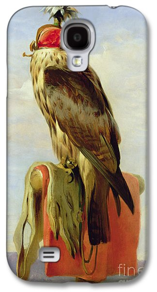 Hooded Falcon Galaxy S4 Case by Sir Edwin Landseer