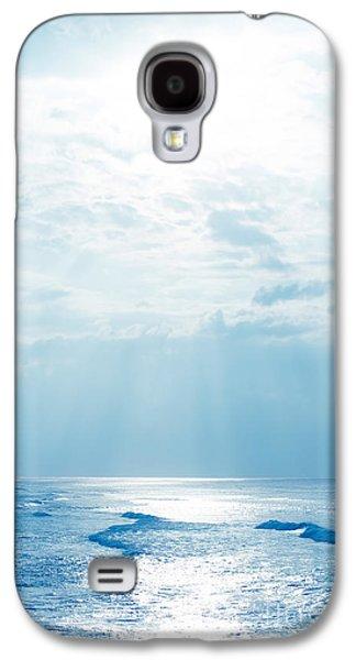 My Ocean Galaxy S4 Cases - Hookipa Beach Blue Sensation Galaxy S4 Case by Sharon Mau