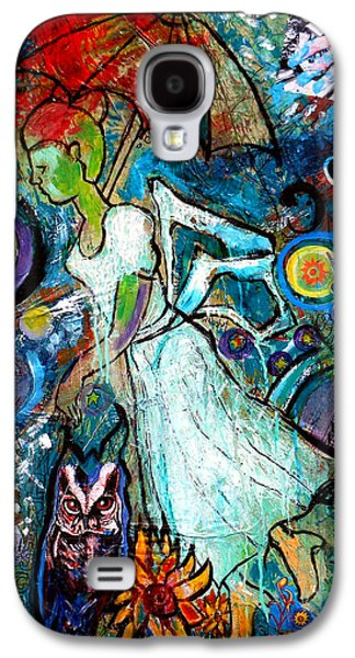 Abstract Movement Galaxy S4 Cases - Hope Floats Galaxy S4 Case by Genevieve Esson
