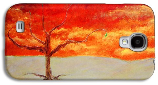 Dreamscape Galaxy S4 Cases - Hope Tree Galaxy S4 Case by Ken Figurski