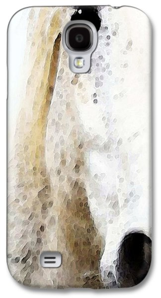 Horse Digital Galaxy S4 Cases - Horse Art - Waiting For You  Galaxy S4 Case by Sharon Cummings