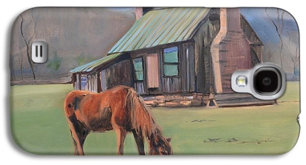 Slaves Galaxy S4 Cases - Horse at Pharsalia Plantation in Nelson County Virginia Galaxy S4 Case by Donna Tuten