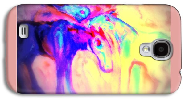 You Can Tell Your Secret To The Horses But To Nobody Else  Galaxy S4 Case by Hilde Widerberg