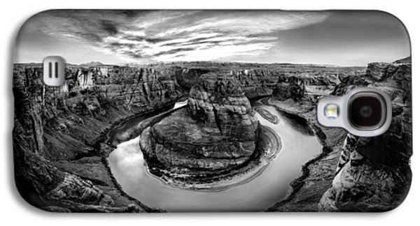Epic Galaxy S4 Cases - Horseshoe Bend BW Galaxy S4 Case by Az Jackson