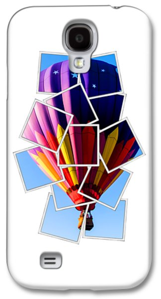 Hot Air Ballooning Tee Galaxy S4 Case by Edward Fielding