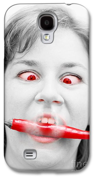 Hot Chilli Woman Galaxy S4 Case by Jorgo Photography - Wall Art Gallery