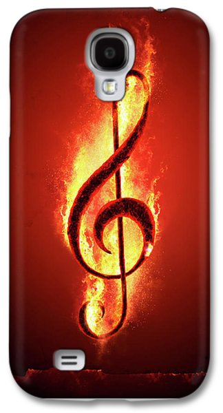 Hot Music Galaxy S4 Case by Johan Swanepoel