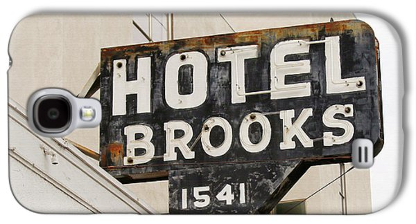 Hotel Brooks Galaxy S4 Case by Art Block Collections