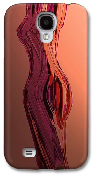 Abstract Forms Galaxy S4 Cases - Hour Glass 4 Galaxy S4 Case by Karen Harding