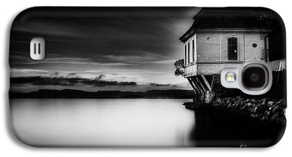Construction Galaxy S4 Cases - House By The Sea Galaxy S4 Case by Erik Brede