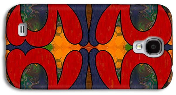 How Sweet It Is Abstract Art By Omashte Galaxy S4 Case by Omaste Witkowski