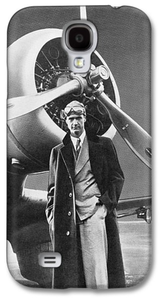 Howard Hughes, Us Aviation Pioneer Galaxy S4 Case by Science, Industry & Business Librarynew York Public Library