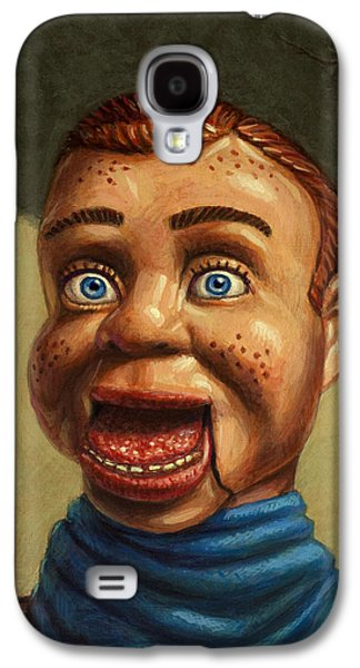 Toys Galaxy S4 Cases - Howdy Doody dodged a bullet Galaxy S4 Case by James W Johnson