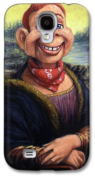 Renaissance Paintings Galaxy S4 Cases - Howdy DooVinci Galaxy S4 Case by James W Johnson