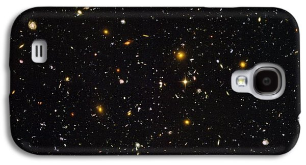 Cosmological Galaxy S4 Cases - Hubble Ultra Deep Field Galaxies Galaxy S4 Case by Nasaesastscis.beckwith, Hudf Team