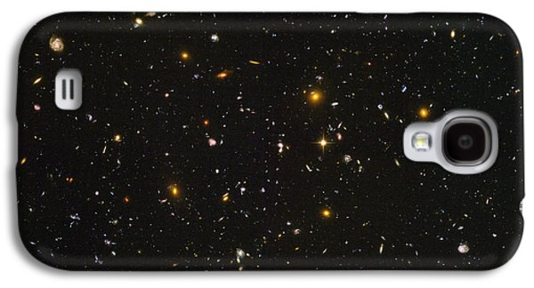 Cosmological Galaxy S4 Cases - Hubble Ultra Deep Field Galaxies Galaxy S4 Case by Space Telescope Science Institute / NASA