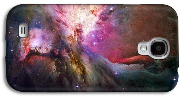 Constellations Galaxy S4 Cases - Hubbles sharpest view of the Orion Nebula Galaxy S4 Case by Adam Romanowicz