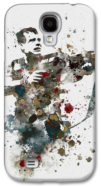 Science Fiction Mixed Media Galaxy S4 Cases - Hudson Galaxy S4 Case by Rebecca Jenkins